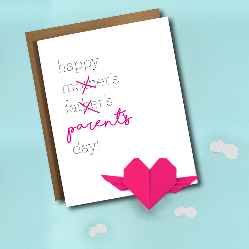 Alternative Father's Day or Mother's Day Card