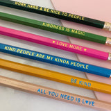 Pencil Set - Be Kind