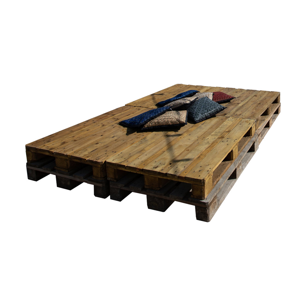 8 pallet group seat