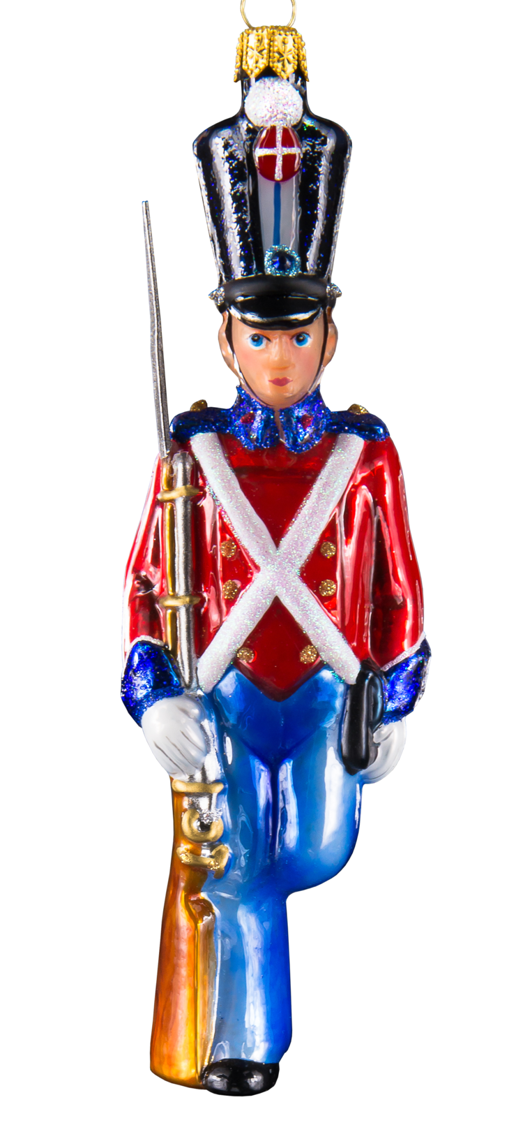 The Steadfast Tin Soldier Stands Alone - Mysteria Christmas Ornaments