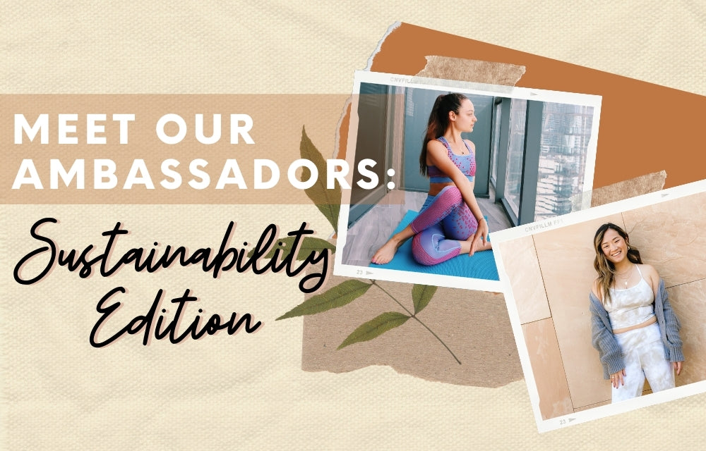 Meet Our Ambassadors: Sustainability Edition