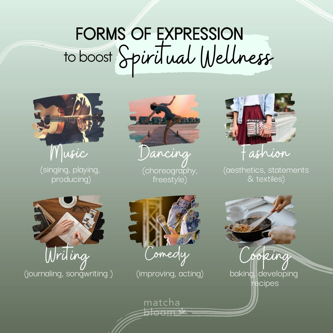 Forms of Expression to Boost Spiritual Wellness