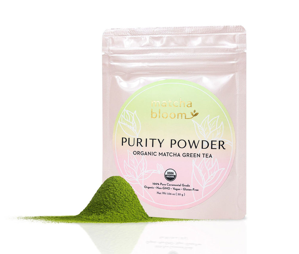 Matcha Purity Powder | Organic Stone Ground Green Tea Matcha Powder - 30g