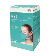 Load image into Gallery viewer, N95 Particulate Respirator - Foldable