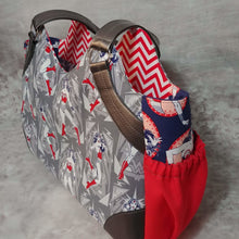 Load image into Gallery viewer, Sunflower Shopping Tote - Wonder Woman
