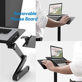HNLA6 Portable Laptop Stand with 2 CPU Cooling Fans