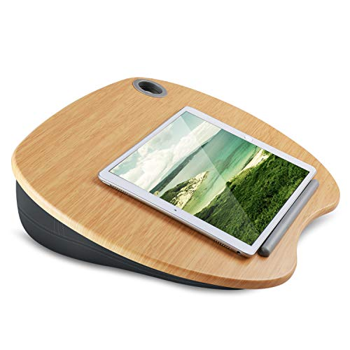 "HNLD1 Bamboo Lap Desk Fits Max 14"" Laptop"