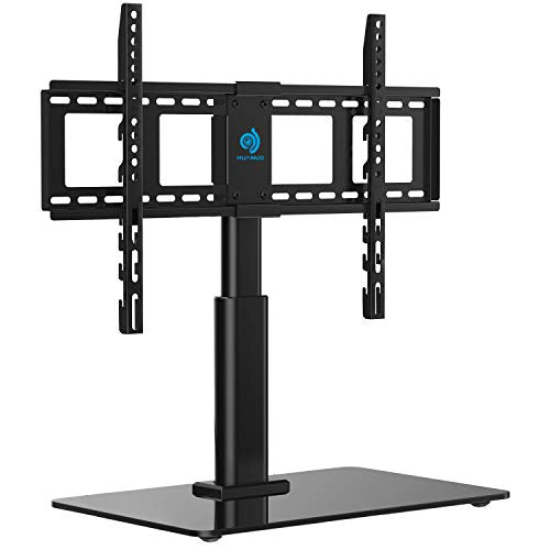 HNTVS02 Tabletop Swivel TV Stand Fits 32 to 60 LCD LED Inch Television