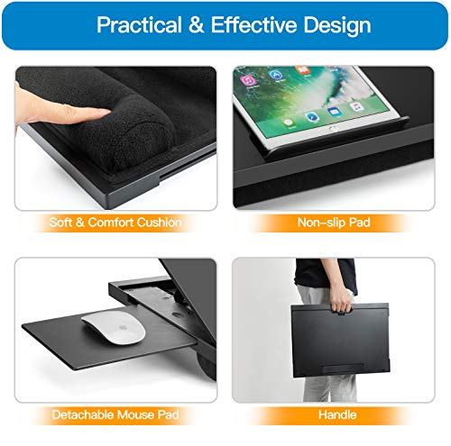 HNLD11 Adjustable Lap Desk with 6 Adjustable Angles