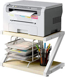 HNWPS Desktop Stand for Printer - Desktop Shelf with Anti - Skid Pads