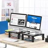 HNLL5 Monitor Riser Stand with Cable Management