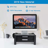 HNLA3 Monitor Stand Riser with Dual Storage Drawers