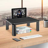 HNLL1 Monitor Stand Riser  with Storage Organizer