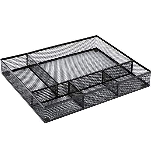 HNFO1 Desk Drawer Organizer- 5 Pieces Large Space,16.2 x 12.2 x 2.36 Inches