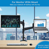 HNKT1 Laptop Tray Steel Notebook Holder for VESA Mount