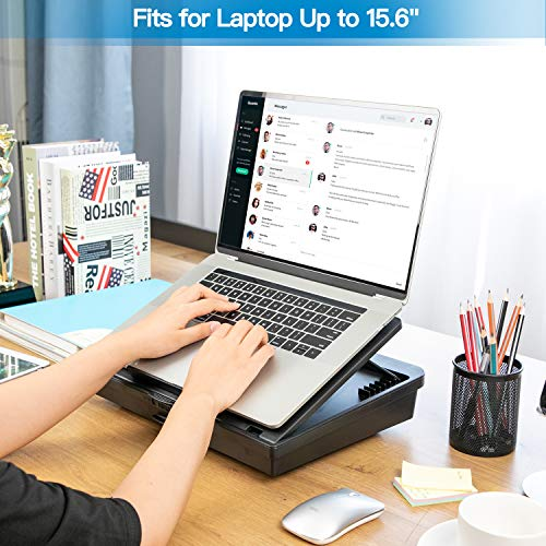 HNLD15 Laptop Stand with Storage Space & 7 Adjustable Angles