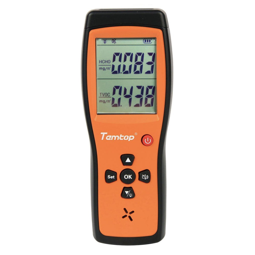 Temtop H2 Air Quality Detector for Formaldehyde/TVOC - Temtop
