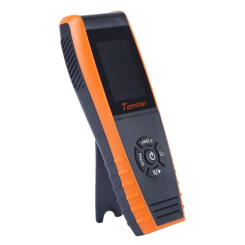 Temtop P600 Air Quality Laser Particle Detector Professional Meter for PM2.5/PM10 TFT Color LCD Display - Temtop US