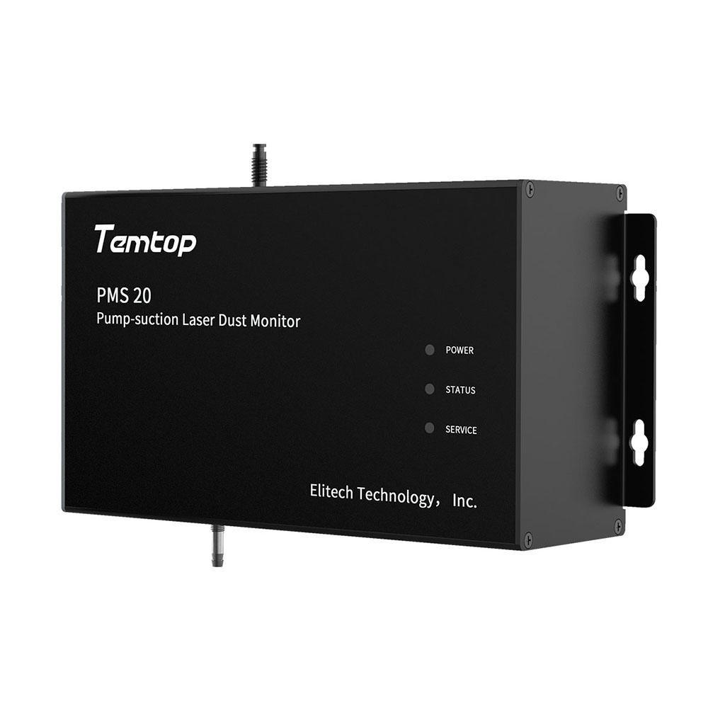 Temtop PMS 20 Pump-Suction Laser Dust Monitor PM1.0 PM2.5 PM10 TSP Mass Concentration 4 Channel 2.83 L/min¡­ - Temtop