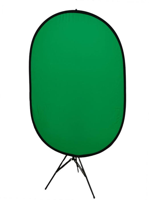 2 In 1 Popup Reversible Green Screen Background Backdrop Include Stand