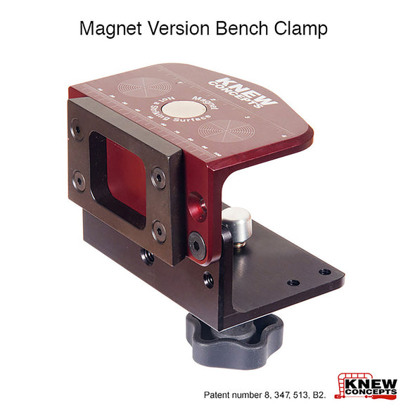Knew Concepts Dovetail Bench Clamp With Magnet