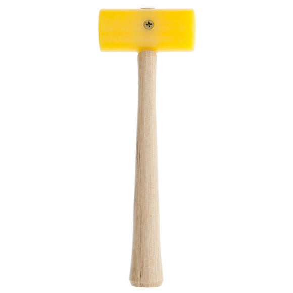 "Garland Yellow Plastic Mallet, 1.25"" Face, 3"" Head, 4oz, Size 1"
