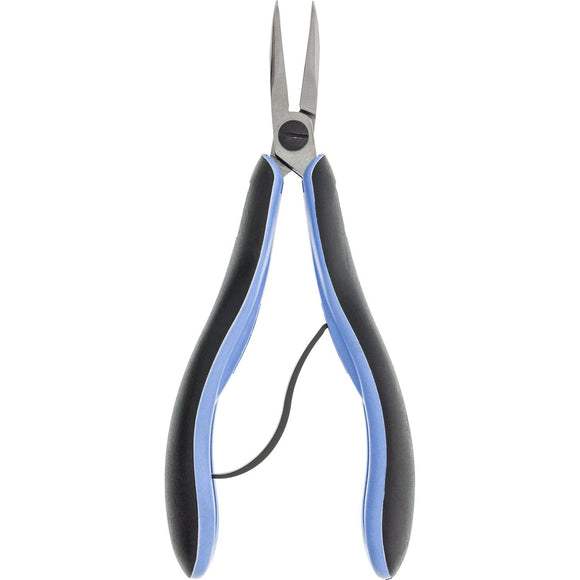 Pliers - Lindstrom RX 7892, Bent Nose, 60d Tip,Smooth Jaw
