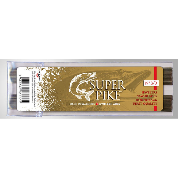 Saw Blades, Jewelers Super Pike #2/0 (144 Blades)