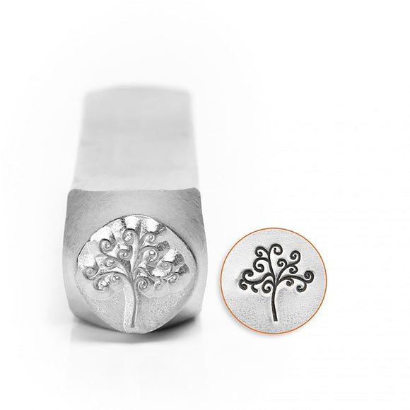 ImpressArt - Design Stamp, Tree Of Life Stamp (6mm)