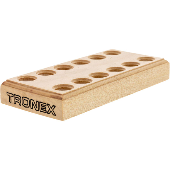 Tronex Wooden Pliers Stand, 12 Holes/6 Pliers