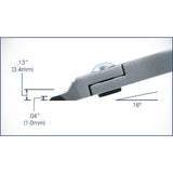 Cutters – Tronex Taper Head, Relieved, Razor Flush Edges (Long Ergonomic Handles) • 7223