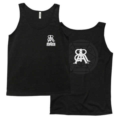 Monochrome Logo and Symbol Tank Tops
