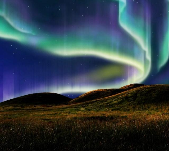 Alaska Northern Lights Paint by Diamonds
