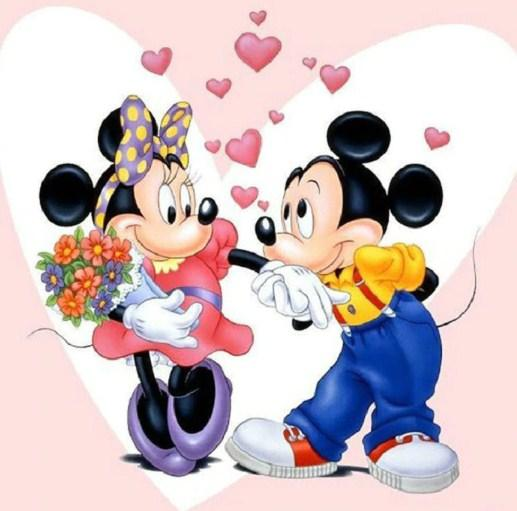 Mickey & Minnie Paint by Diamonds