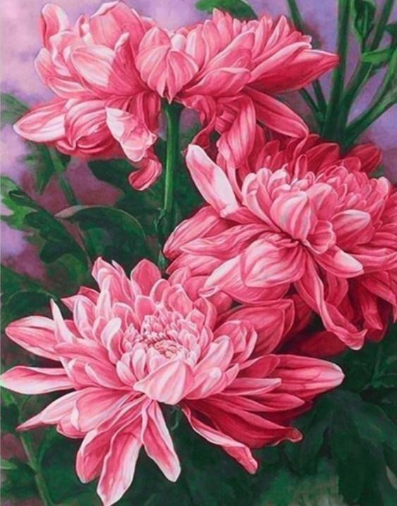 Mystical Peonies Paint by Diamonds