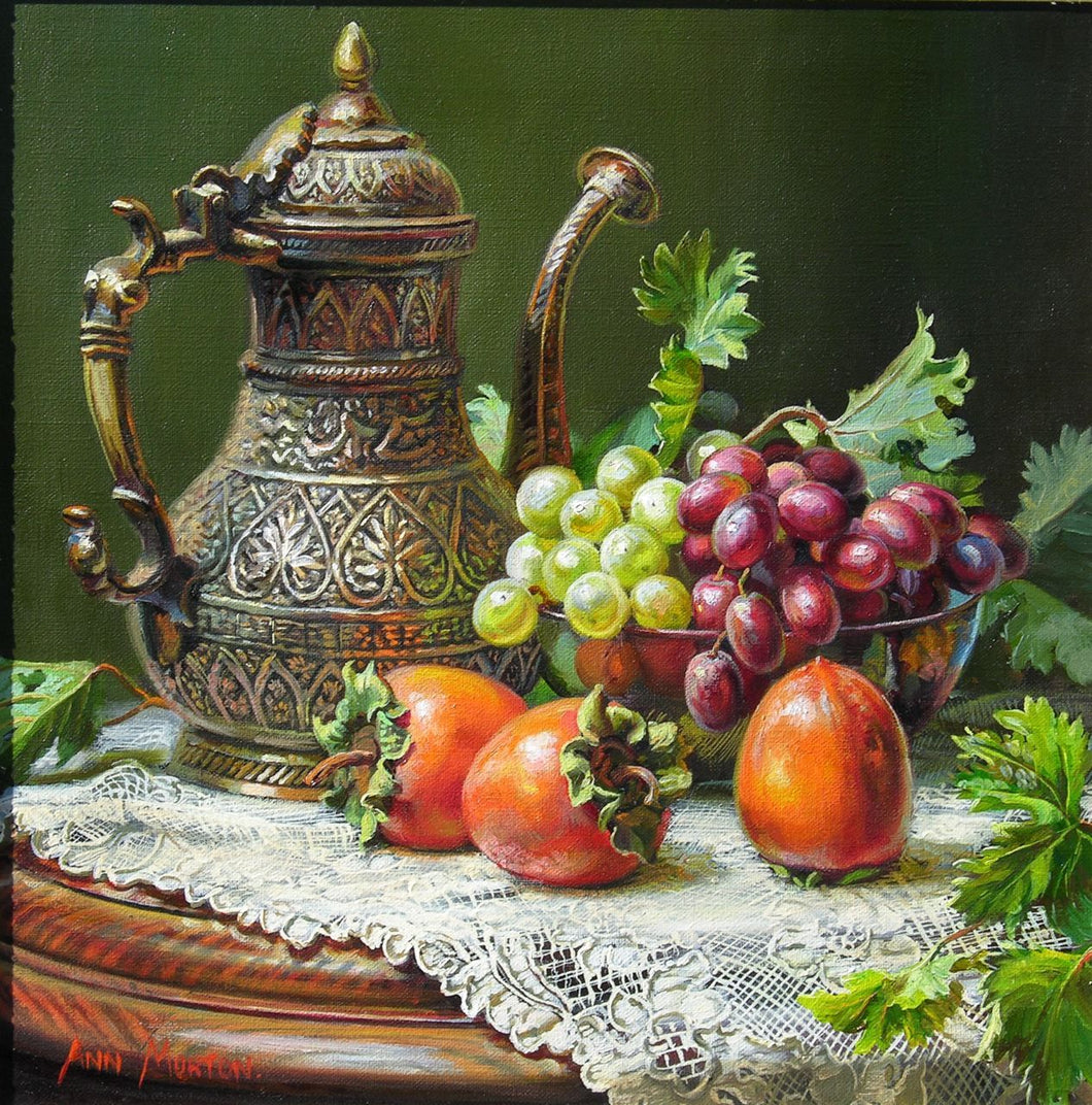 Persimmons & Grapes Paint by Diamonds