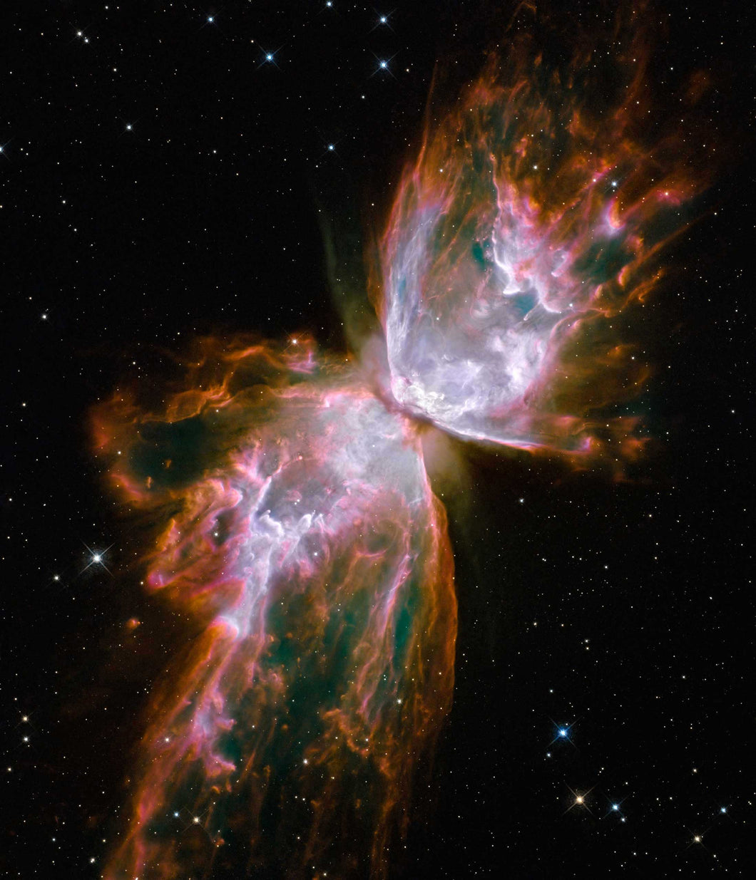 The Butterfly Nebula Paint with Diamonds
