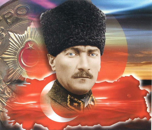 Mustafa Kemal Ataturk Diamond Painting - Diamond Painting Deutschland