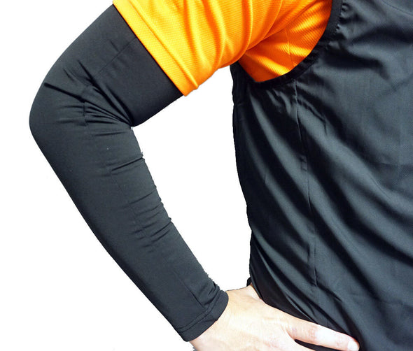 The Black Arm Warmers