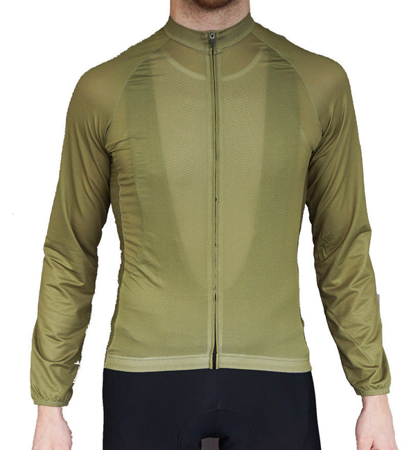 The Long Sleeved Summer Jersey Olive