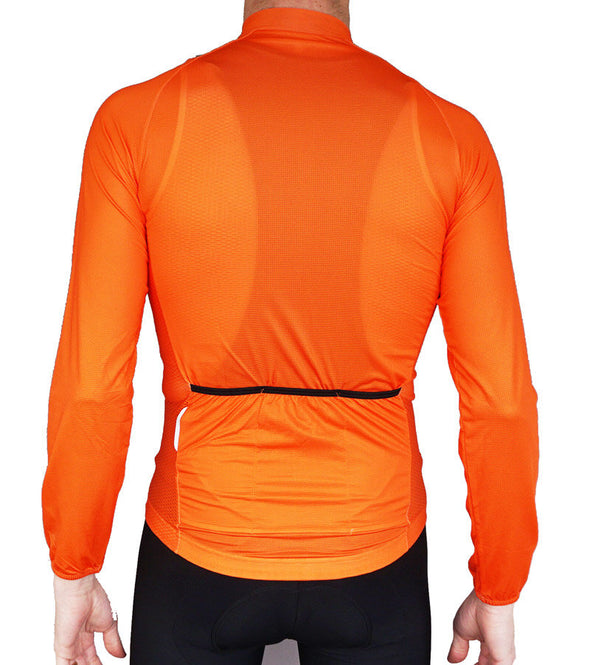 The Long Sleeved Summer Jersey Orange
