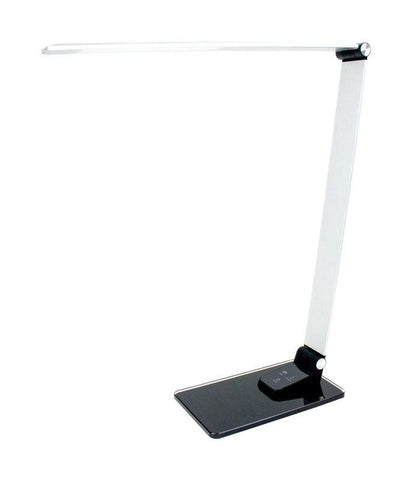 Newhouse  2.5 in. Semi-Gloss  Gray  Desk Lamp