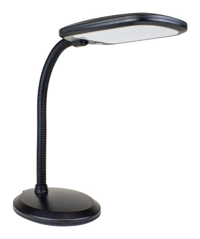 Newhouse Lighting  Eos  14 in. Black  Desk Lamp