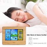 USB/Battery Operated Wireless Color LCD Weather