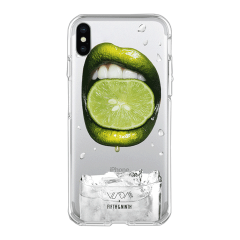 Vladamua x Fifth & Ninth Squeezed Lime iPhone Case