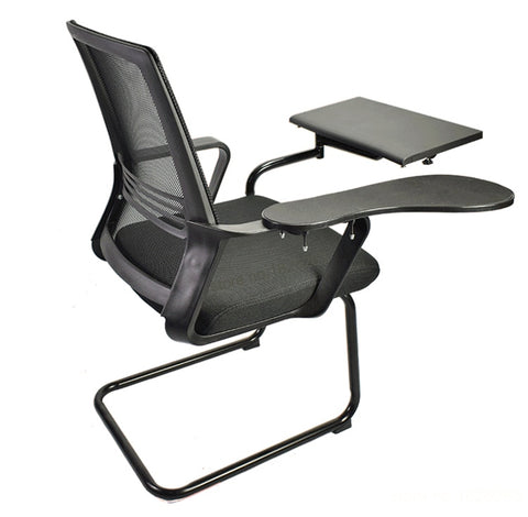 Hyvarwey Full Motion Multifunctional Bow Chair Clamping Keyboard/ Mouse Pad Support Laptop Desk  Holder Tablet PC Stand