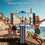 3-Axis Foldable Gimbal Stabilizer, Supports Beauty Mode Mode with
