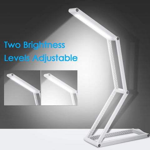 Foldable USB LEDs Desk Lamp Portable led Table lamp Multi-functional for Kids Studying Camping Bedroom Reading table light