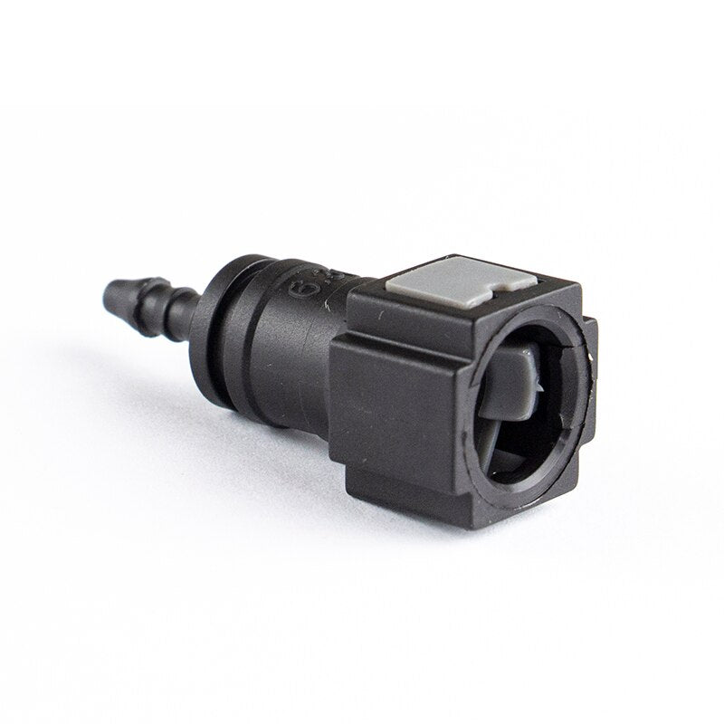 1/4'' 6.30 ID3 Straight Fuel Injector Female Quick Connector For Nylon Pipe And Rubber Pipe