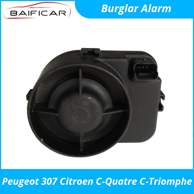 Baificar Brand New Genuine Car Burglar Alarm 9661994180 3PIN for Peugeot 307 Citroen C-Quatre C-Triomphe